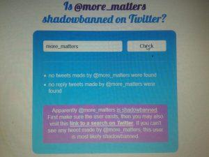 shadow banning
