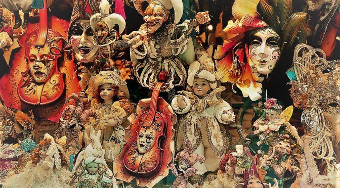 the great pretender masks