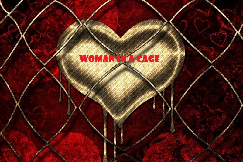 woman in a cage Bars ~ Five Part Series